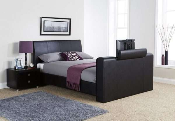 Braidwood Leather TV Bed