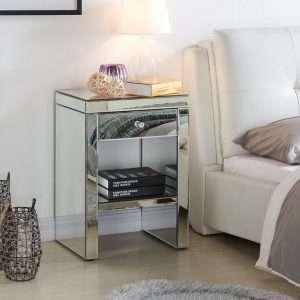 Prestington Mirrored Bed Table