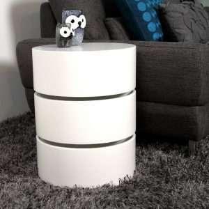 Tyisha Side Table with Storage