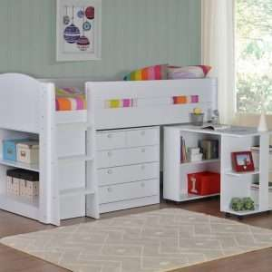 Frankie Cabin Bed with Storage and Desk