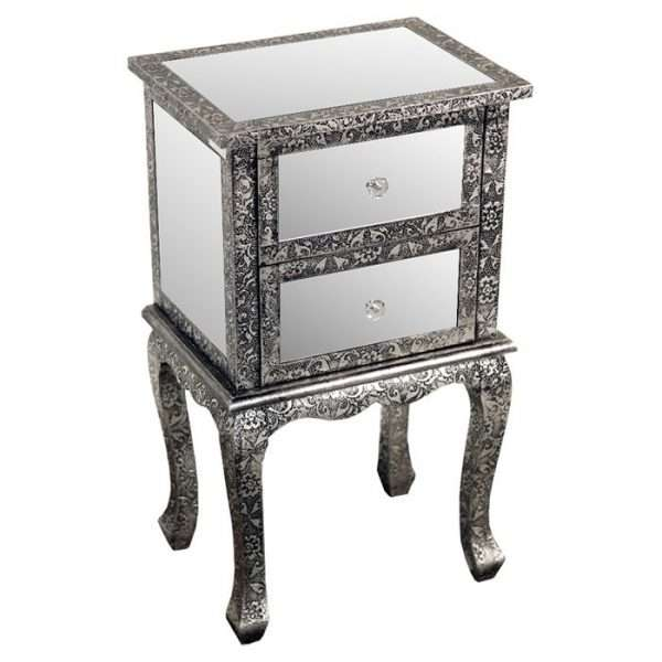 DSUX Mirrored Bedside Table
