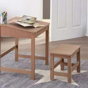 Writing Desk & Stool Set