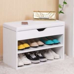 6 Pair Shoe Storage Bench