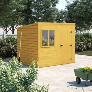 8x6 Shiplap Wooden Shed