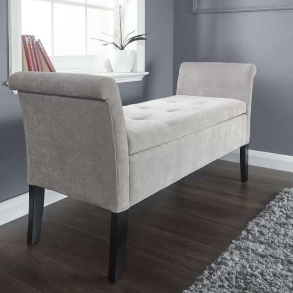 Andesine Upholstered Storage Bench