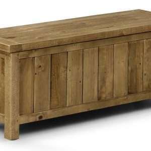 Ashcroft Wood Storage Bench
