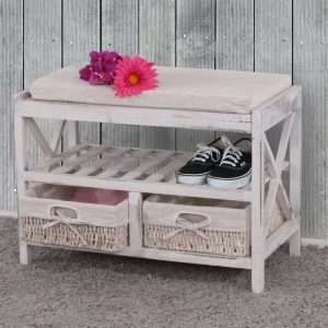 Barrie Shoe Storage Bench
