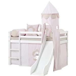 Fairytale Flower Mid Sleeper Bed