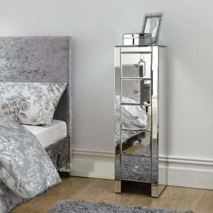 Borowski Mirrored Chest of Drawers