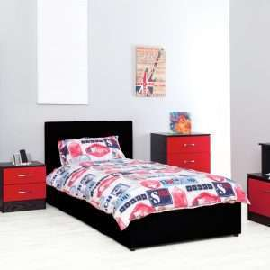 Chaz 5 Piece Bedroom Set