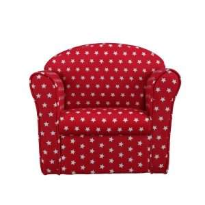 Kids Red Armchair