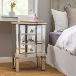 Cleethorpes Mirrored BedsideTable