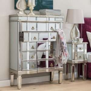 Cleethorpes Mirrored Chest of Drawers