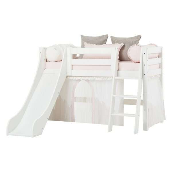 European Mid Sleeper Bed with Slide