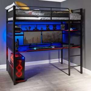 Gaming High Sleeper Bed