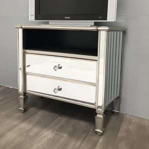 George Mirrored TV Stand