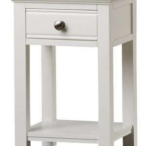Greensboro White Bedside Table