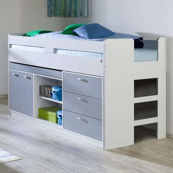 Hoffman Mid Sleeper Bed