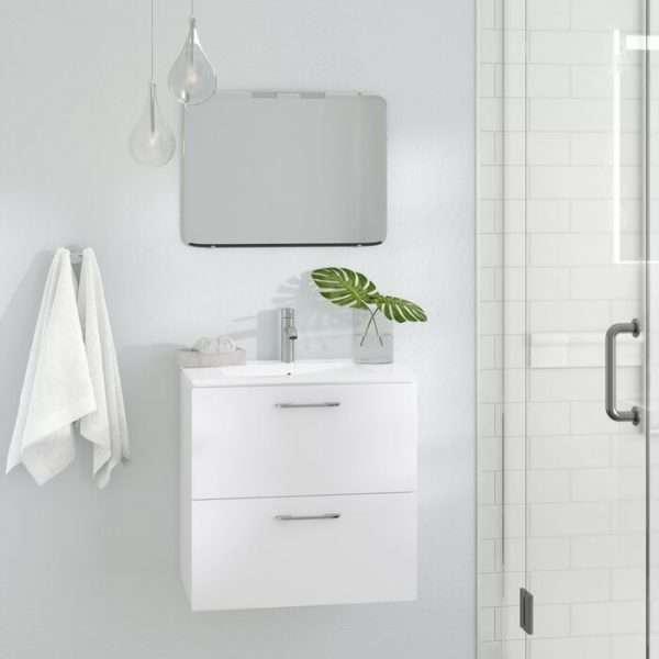 Innis Wall Hung Single Vanity Unit
