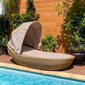 Kieron Garden Daybed + Cushions