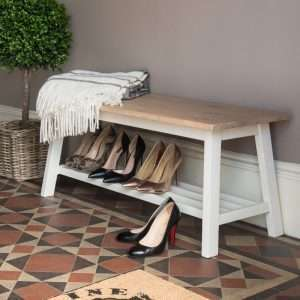Mac Shoe Storage Bench