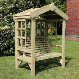Middlesex Solid Wood Arbour