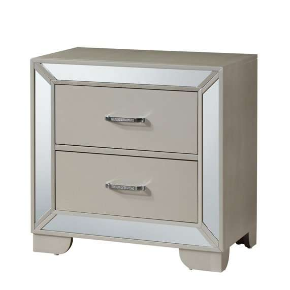 Middlewich Mirrored Bedside Table