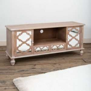 Montvert Mirrored TV Stand
