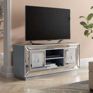 Mooney Mirrored TV Unit