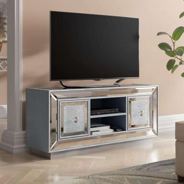 Mooney Mirrored TV Unit