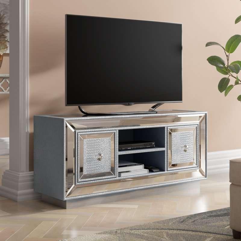 Mirrored TV Units