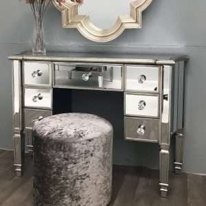 Morley Vintage Mirrored Dressing Table