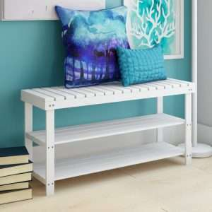 Nichols Shoe Storage Bench