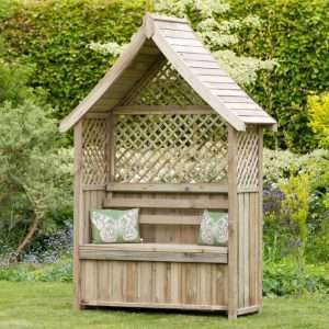 Norfolk Wooden Arbour