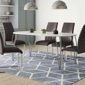Ottas Oval Dining Table