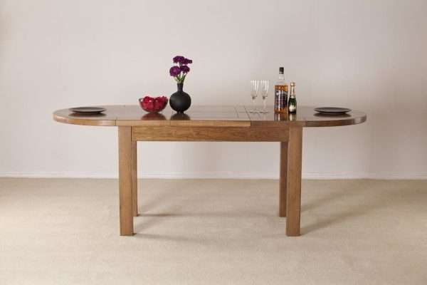 Rayleigh Large D-End Dining Table