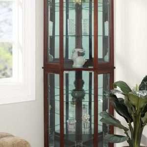 Ridgeway Corner Curio Cabinet