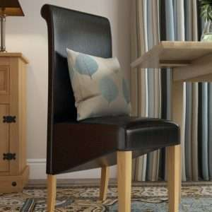 Roanoke Leather Dining Chair