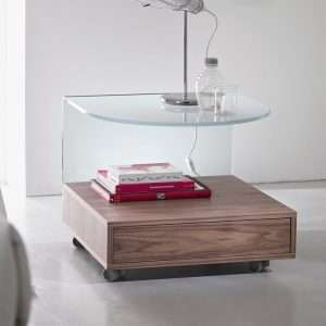 Rollo Bedside Table