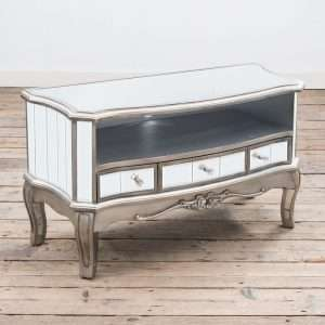 Rowland Mirrored TV Stand