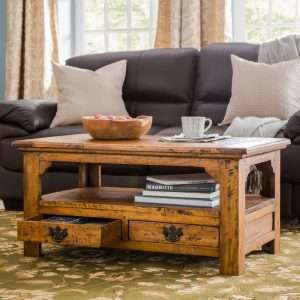 Sanabria Coffee Table with Storage