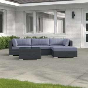Sano Rattan Corner Sofa Set