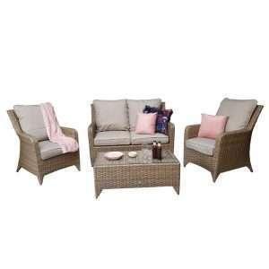 Saskia Rattan Sofa Set