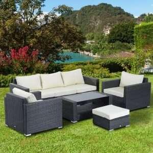 Seibert Rattan Sofa Set