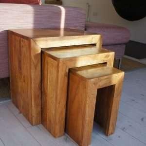 Sheesham Cube Tables
