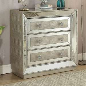 Sofia Mirrored Chest of Drawers