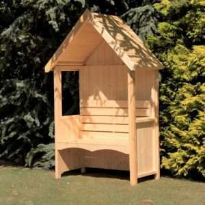 Solid Wood Garden Arbour