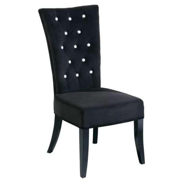 Stylish Velvet Dining Chair