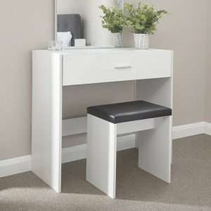 Tabatha Compact Dressing Table Set with Mirror