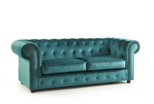 Tuers 3 Seater Chesterfield Sofa